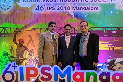 Indian Prosthodontic Society Mangalore 2018 conference