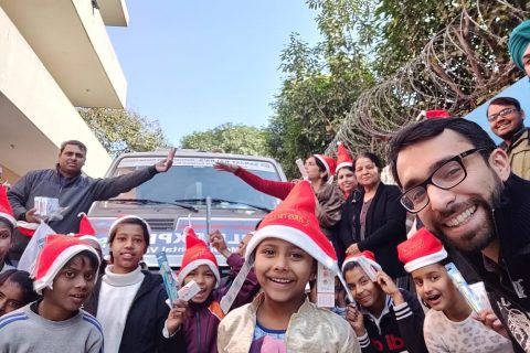 christmas celebration at Aashiana Orphanage 3