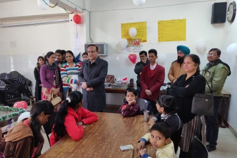 christmas celebration at Aashiana Orphanage